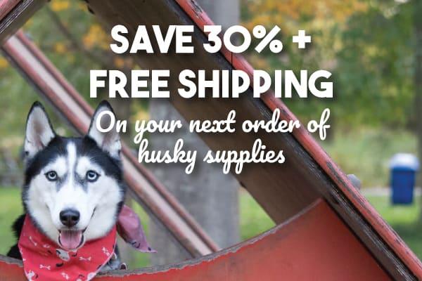 Saving 30% On Husky Food, Toys or Supplies